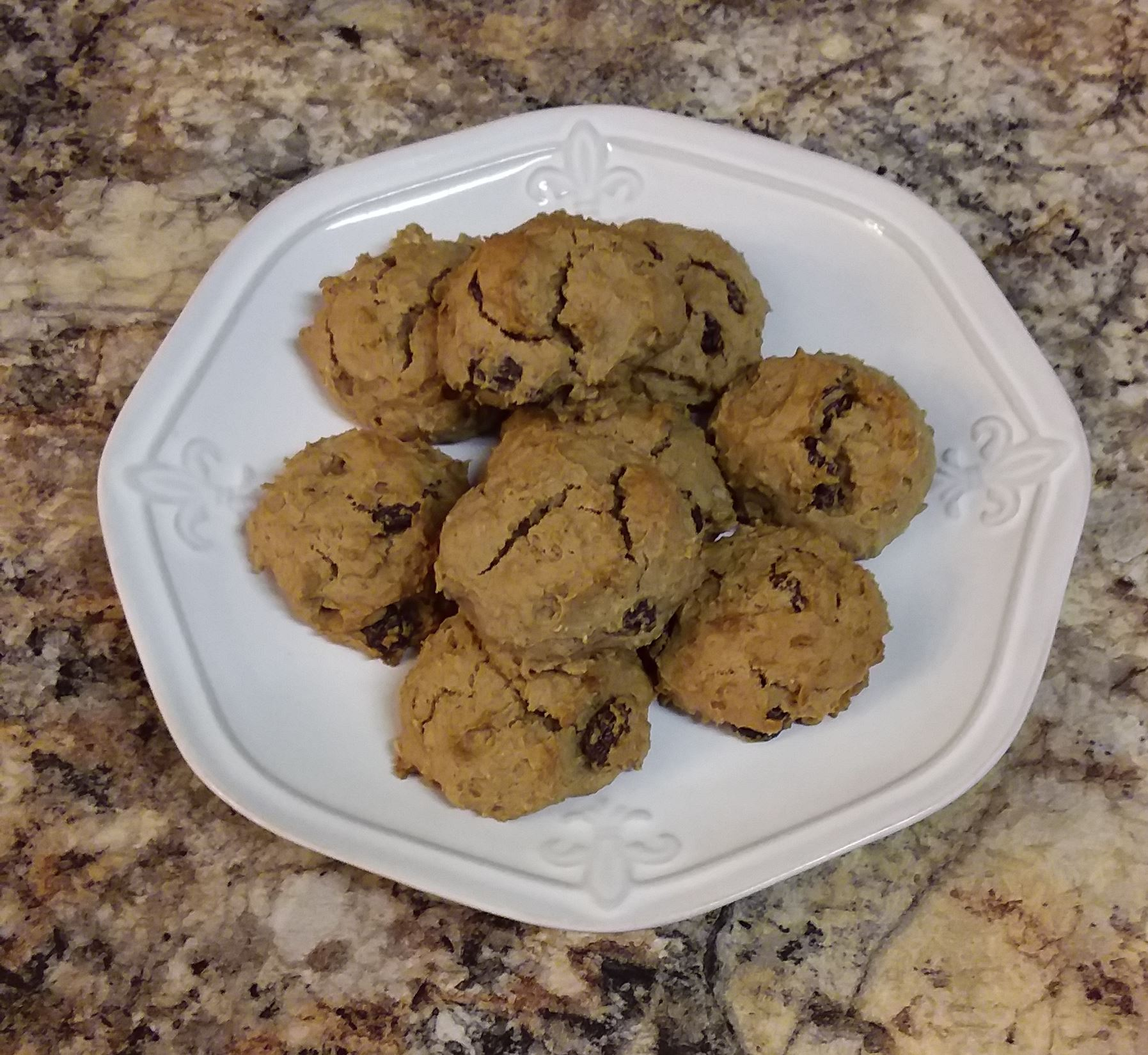 Persimmon Oatmeal Cookies - Braeden Larpenter